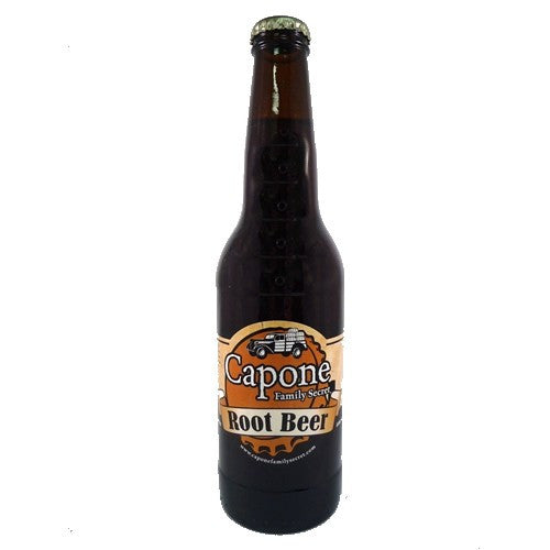 Capone Family Recipe glass bottle root beer
