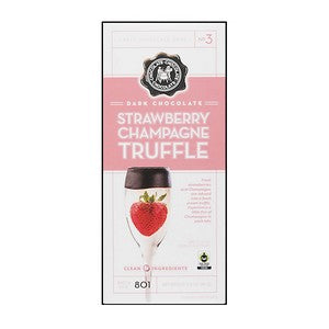 C3  Strawberry Champagne Truffle