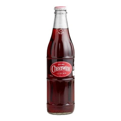 Diet Cheerwine Glass Bottle