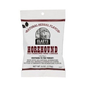 Claeys Horehound Sugared Candy Drops