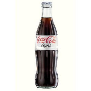 Mexi Coke Light Glass Bottle