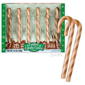 Coffee Flavored Candy Canes
