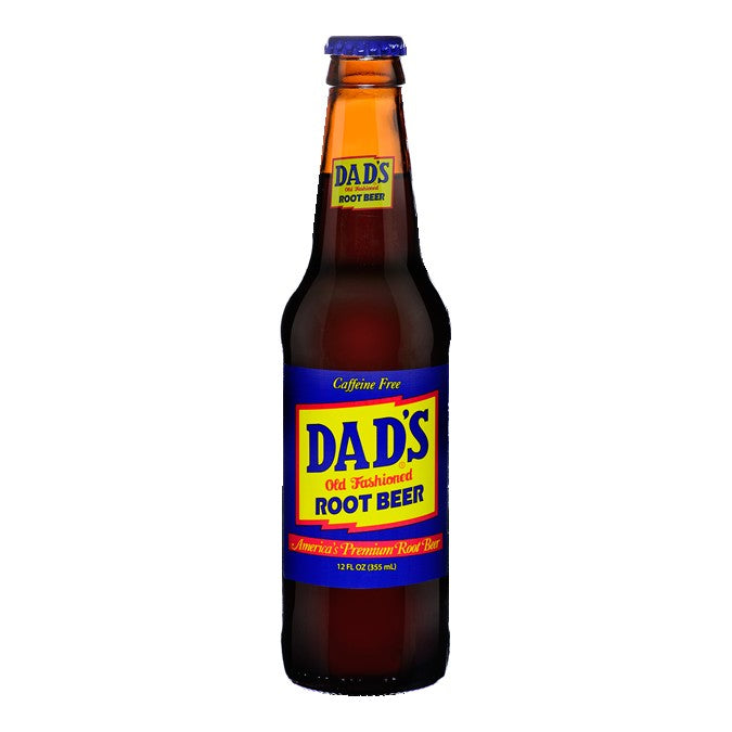 Dads Root Beer Glass Bottled Soda Pop