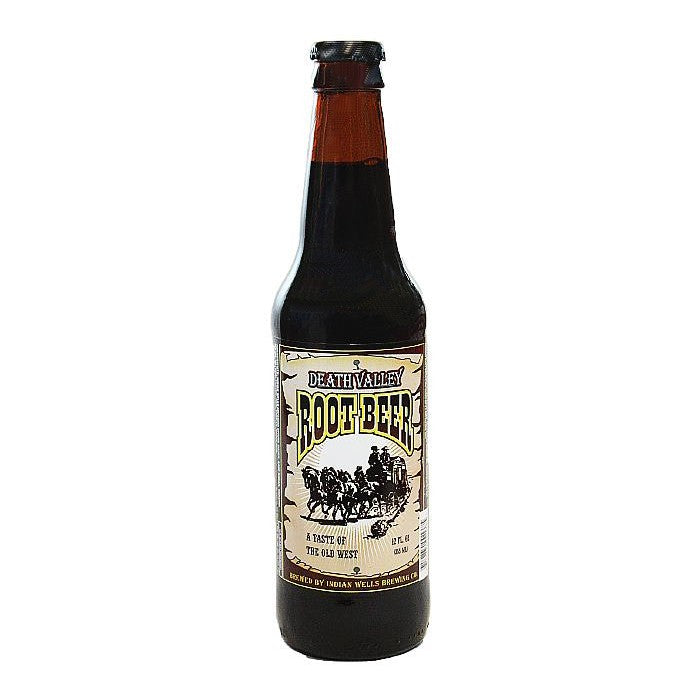 Death Valley Root Beer Glass Bottle