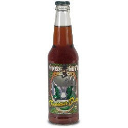 Gross Gus Dinosaur Dung glass bottle soda