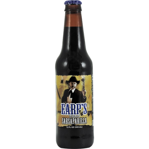 Earps Sarsaparilla Glass Bottle
