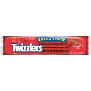 Extra Long Giant Twizzlers licorice candy