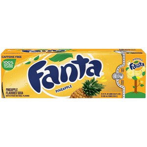 Fanta Pineapple 12 Pack Cans