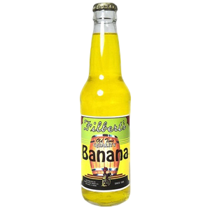Filberts Banana Glass Bottle Soda