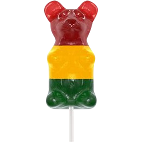 Giant 1/2 pd Gummy bear on a stick