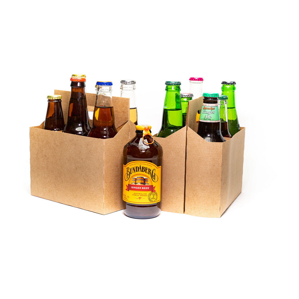 Ginger Ale Ginger Beer Sampler 6 Pack
