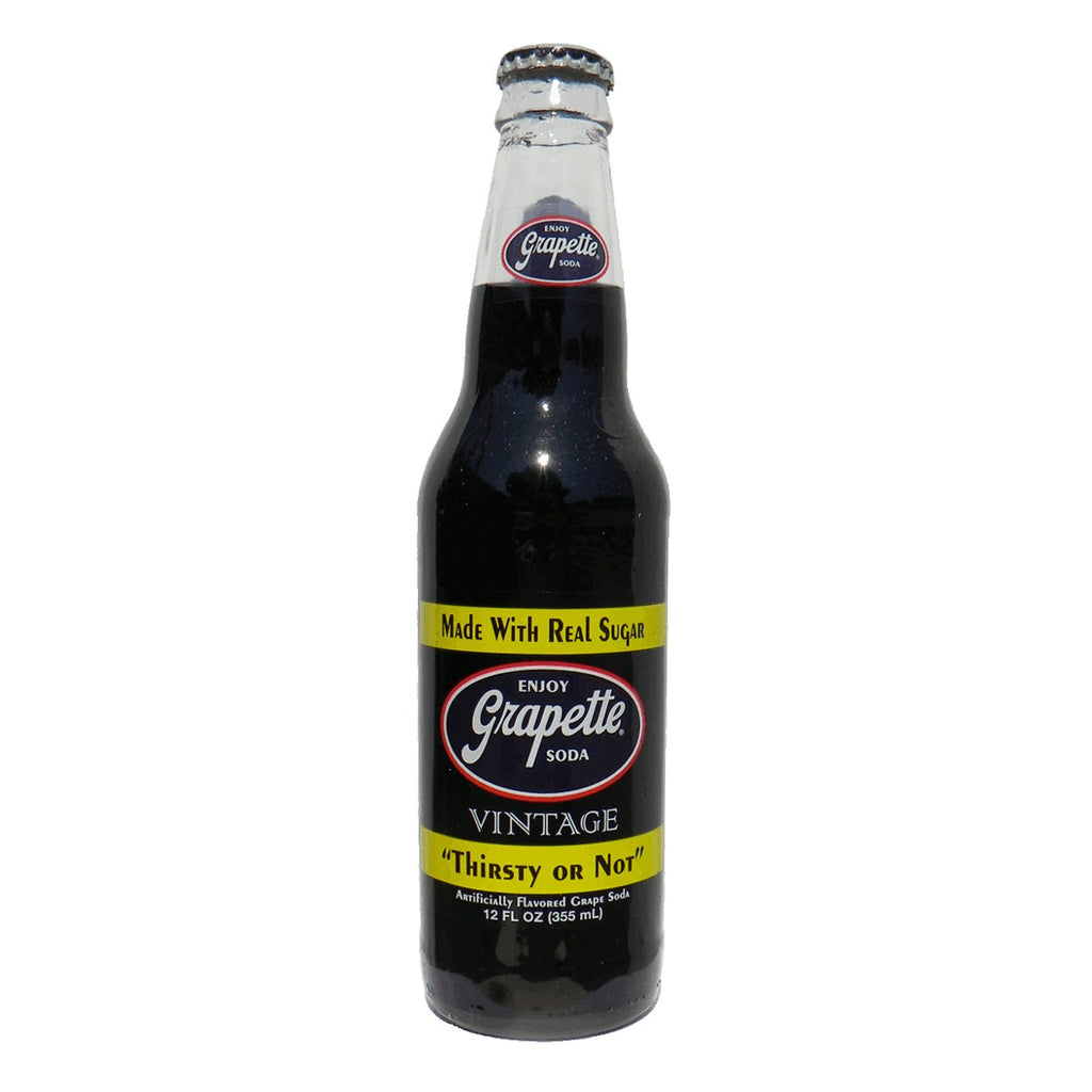 Grapette Glass Bottled Soda Pop