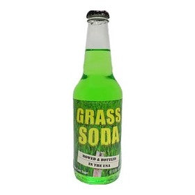 Grass Soda glass bottle soda
