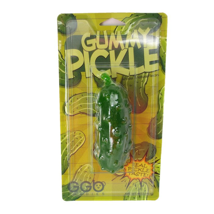 Giant Gummy Pickle