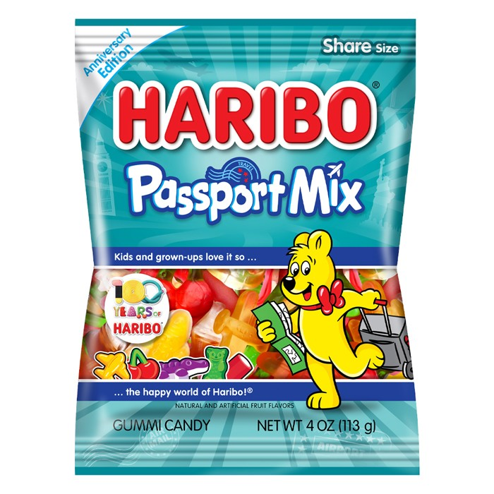 Haribo Passport Mix Gummies