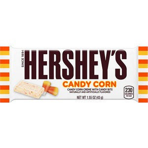 Hershey Candy Corn flavored choclate bar