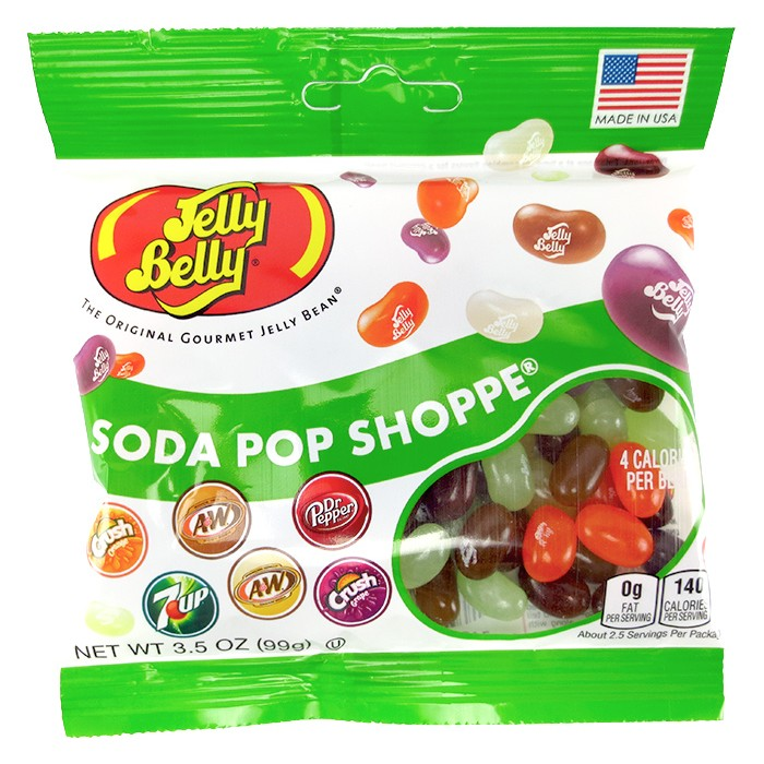 Jelly Belly Soda Pop Shop assorted flavored jelly beans 3.5 oz