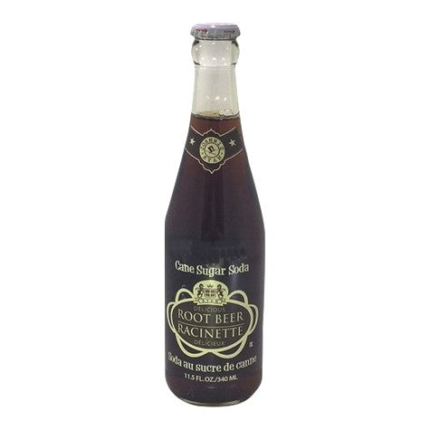 Johnnie Ryan glass bottle root beer