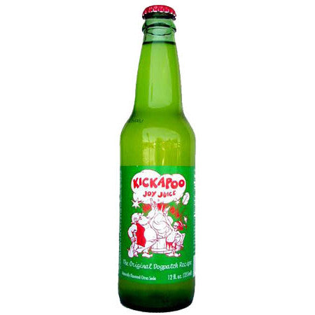 Kickapoo Joy Juice Glass Bottle Soda
