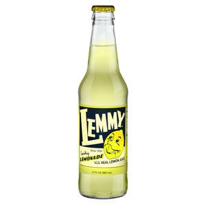 Lemmy Lemonade glass bottle soda