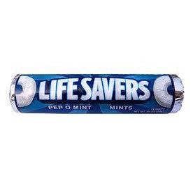 Live Savers Pep O Mint flavored candy