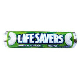 Life Savers Wint O G reen Mint flavored mints