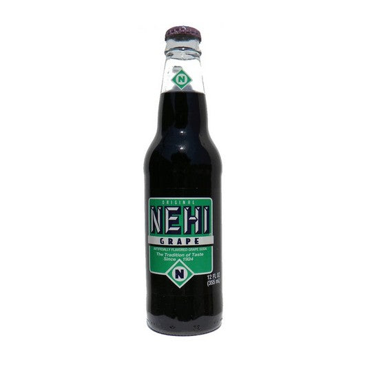 Grape Nehi Glass Bottled Soda Pop