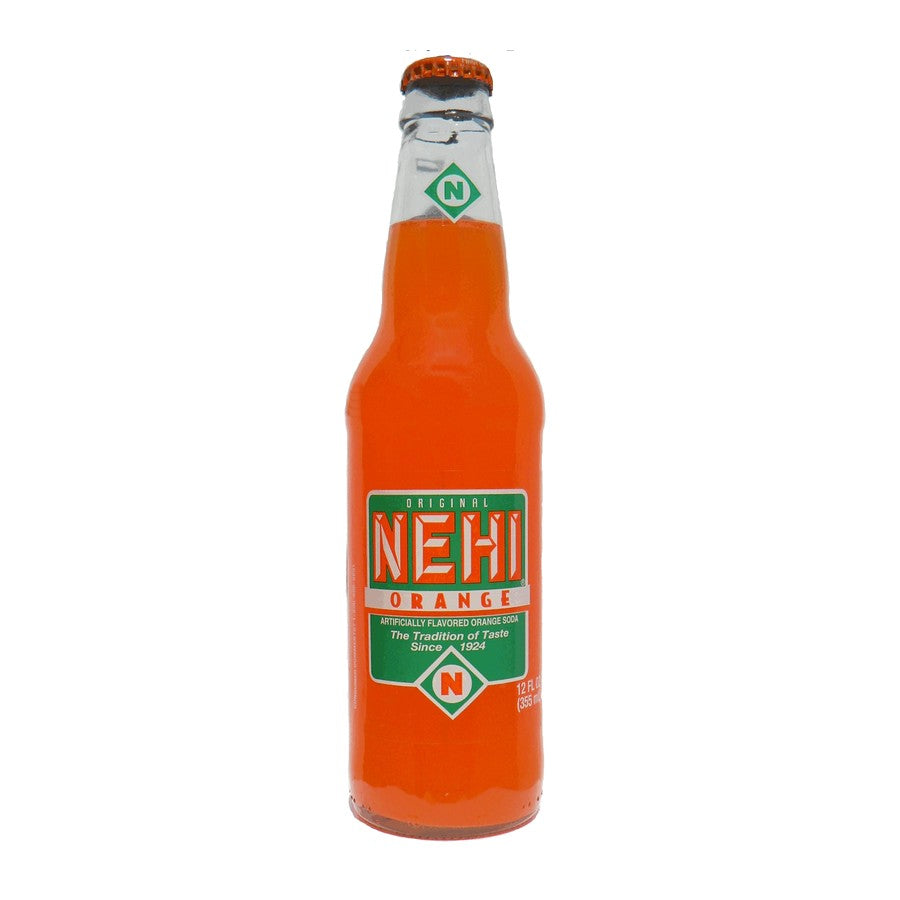 Nehi Orange Glass Bottled Soda Pop