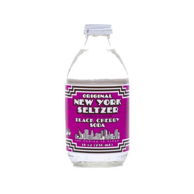 New York Seltzer Black Cherry Soda Pop