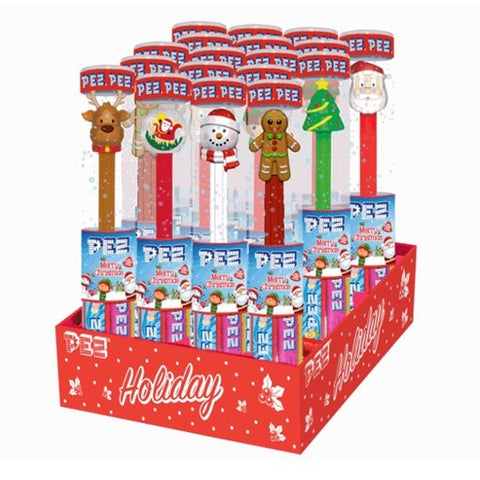 Chrismas PEZ Tube Candy Dispenser