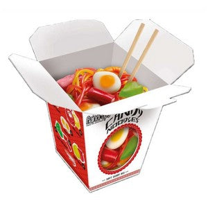 Raindrops Gummy Noodles Take Out Carton