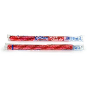 Candy Sticks - Raspberry (10)