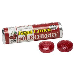 Regal Crown Sour Cherry Candy