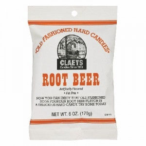 Claeys old fashioned root beer hard candy
