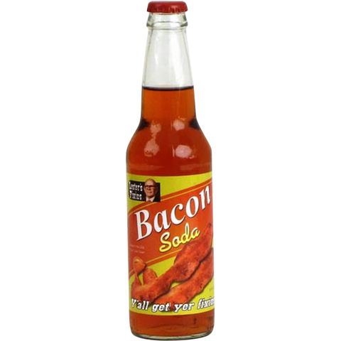 Bacon Soda Glass Bottle