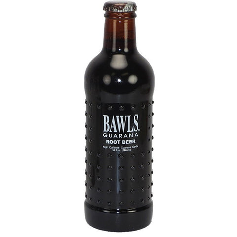 Bawls Root Beer Glass Bottle