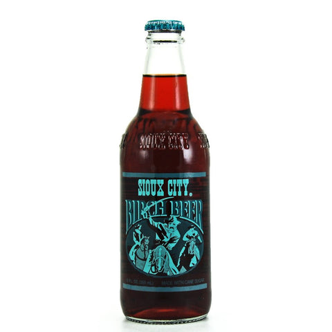 Sioux City Birch Beer Glass Bottle