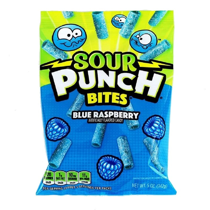 Sour punch Blue Raspberry Bites