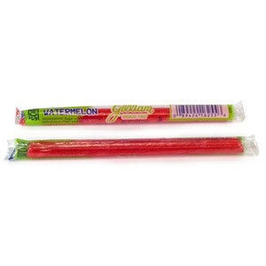 sour watermelon flavored candy sticks