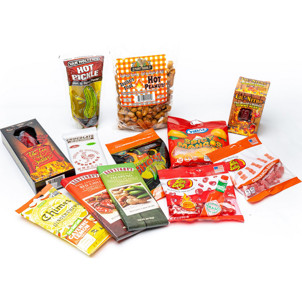 Spicy Firey Hot Candy Gift Box Sampler