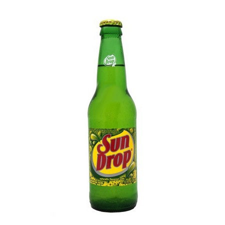 Sun Drop Glass Bottled Soda