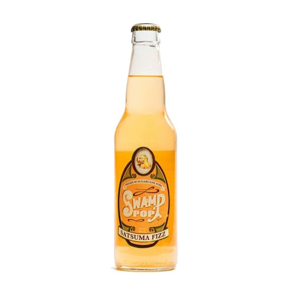 Swamp Pop Satsuma Fizz Glass Bottle
