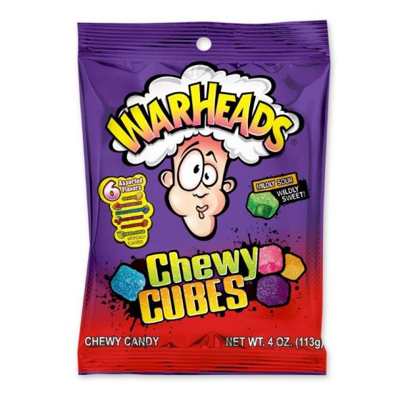 Warhead Chewy Cubes