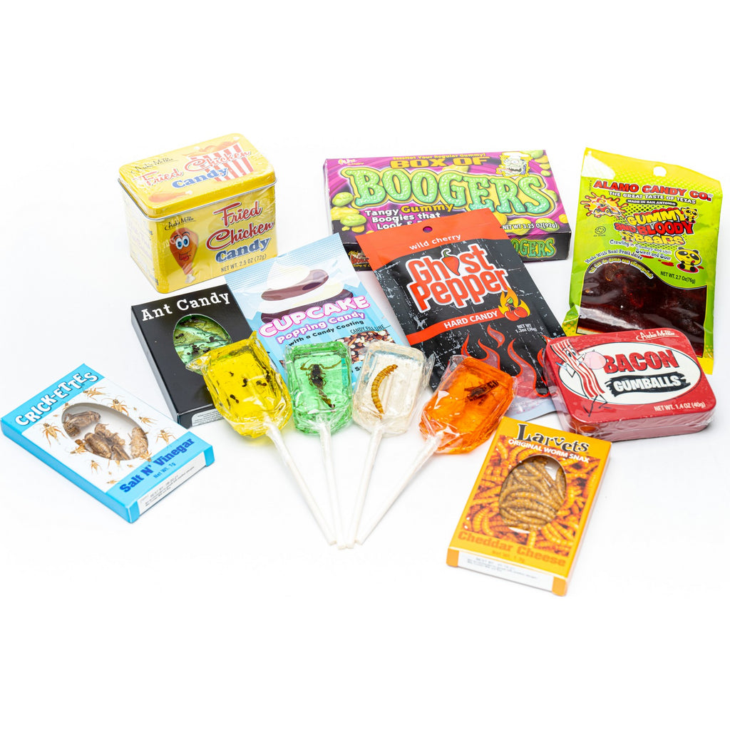 Weird & Unusual Crazy Candy Gift Box