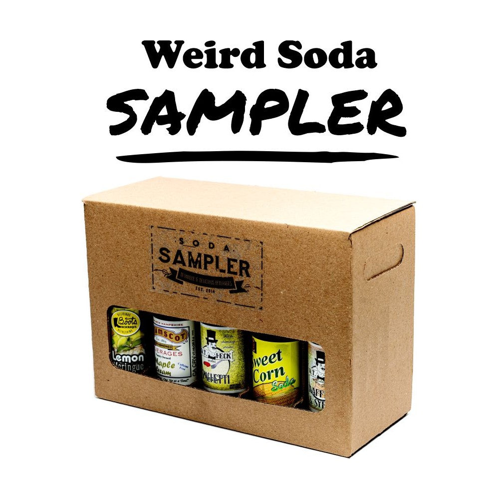 Weird Gross Soda Pop Sampler Gift Box