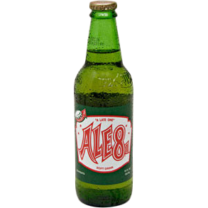 ALE 8 1 GLASS BOTTLE SODA