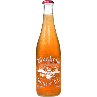 Blenheim Hot Ginger Ale Glass Bottle