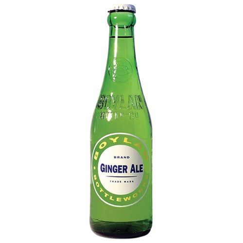 Boylan Ginger Ale Glass Bottle