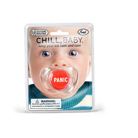 Panic Button Pacifier