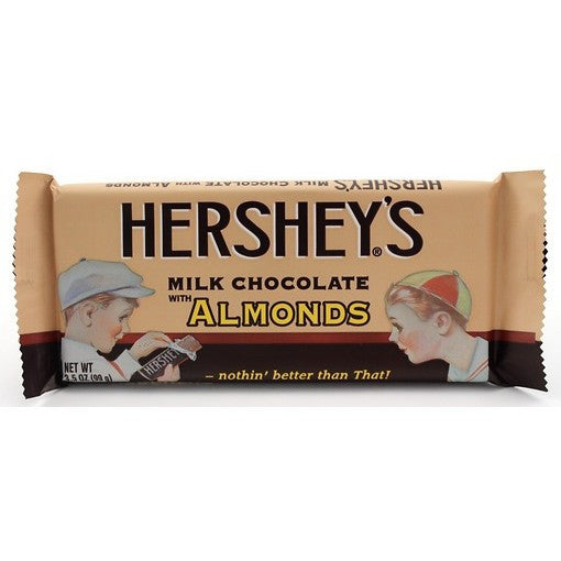 Hershey Chocolate Bar with Almonds